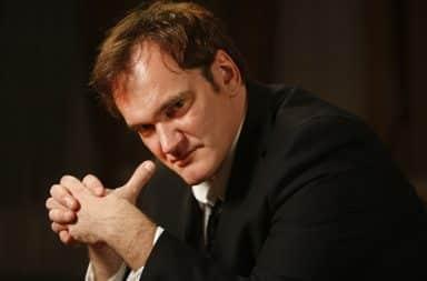 Quentin Tarantino thinking pose
