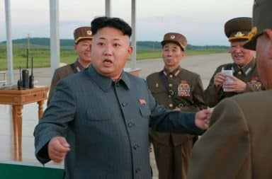 Kim Jong Un angry speech to military officials