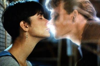 Kiss in Ghost movie