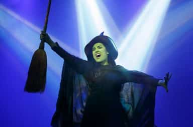 Wicked musical dubstep version witch on stage