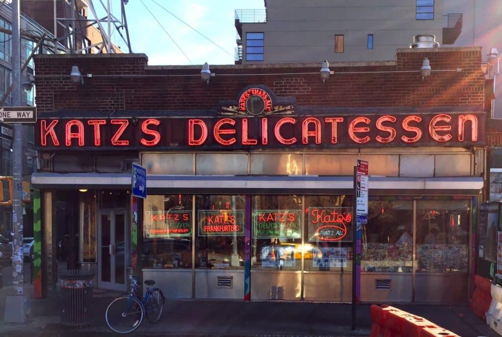 Katz Delicatessen in New York City