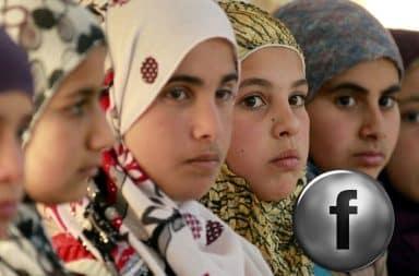 Facebook Syrian women