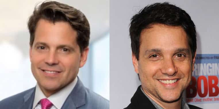 Anthony Scaramucci and Ralph Macchio
