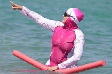 Burkini swimsuit