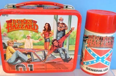 Dukes of Hazzard lunchbox and Thermos
