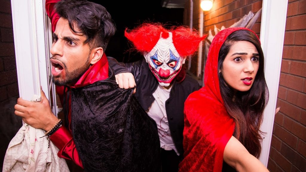 Adults too old to trick or treat on Halloween