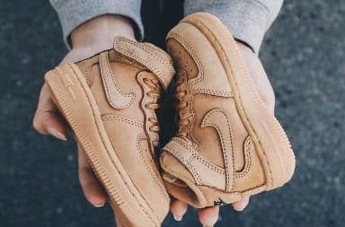 Nike Air Force 1's size 2 for baby