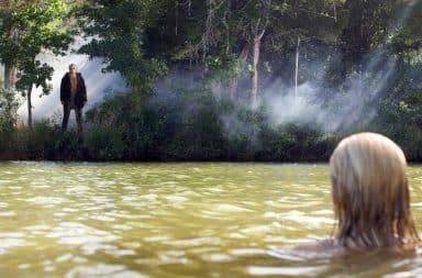 Friday the 13th sequel lake scene