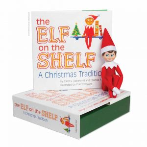 Elf on a Shelf book set