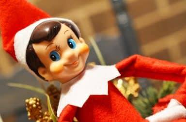 Elf on a Shelf boy