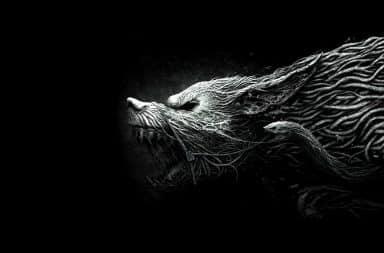 Black Shuck ghostly dog