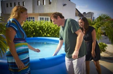 House Hunters Playa del Carmen episode pool