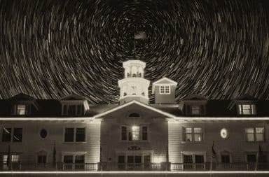 The Overlook Hotel in The Shining movie