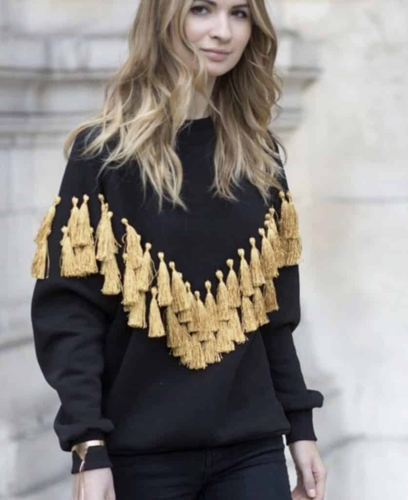 Tassels sweater