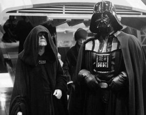Palpatine and Vader