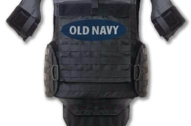 Old Navy body armor