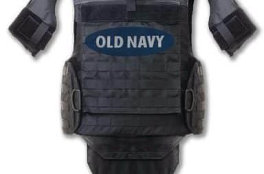 Old Navy body armor
