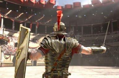 Roman Colosseum fighter