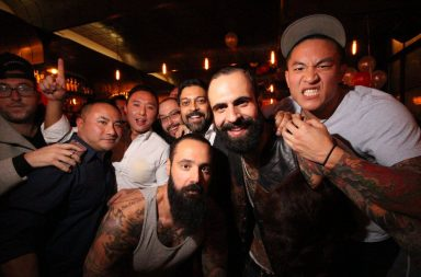 Douchebag guys in a bar