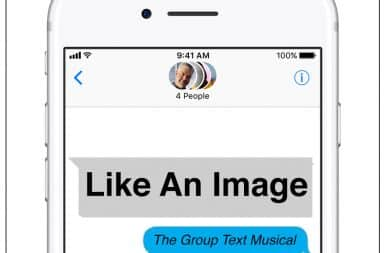 Group Text: The Musical