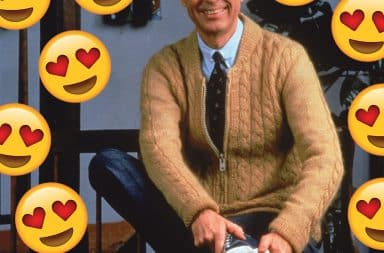 I love you Fred Rogers
