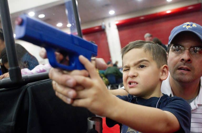 kids with guns a great idea from the NRA