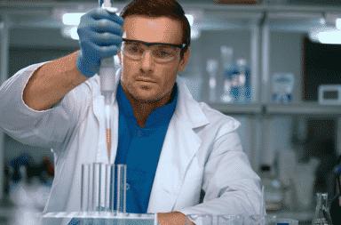 It's the spit scientist
