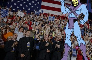 Skeletor, embraced by the GOP