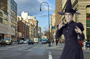 Witch in the big city