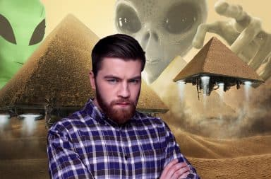 Aliens pyramids and me