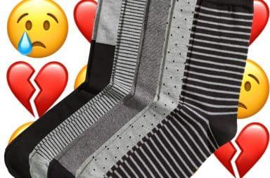 Socks but they're sad