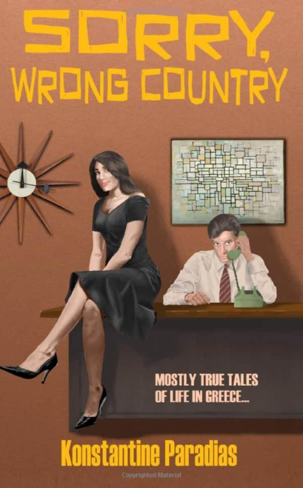 Sorry, Wrong Country by Konstantine Paradias (book cover)