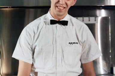 I'm the burger server, how may I help you