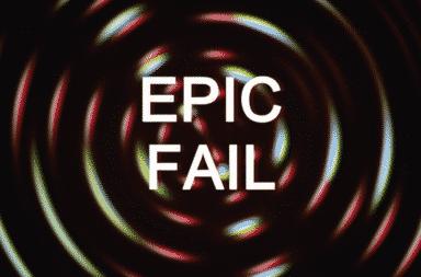 Oh dang an epic freaking fail!