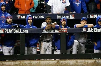The sad boys in the sad boy dugout