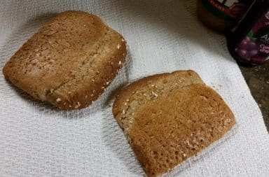 the bad end of the bread