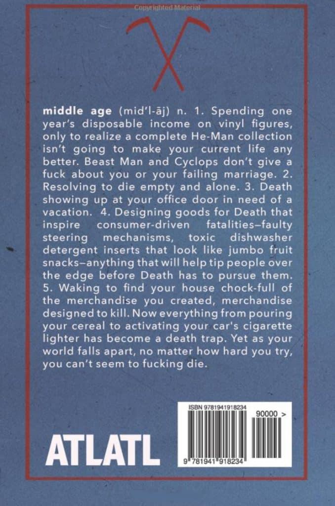 Die Empty by Kirk Jones (book back cover)