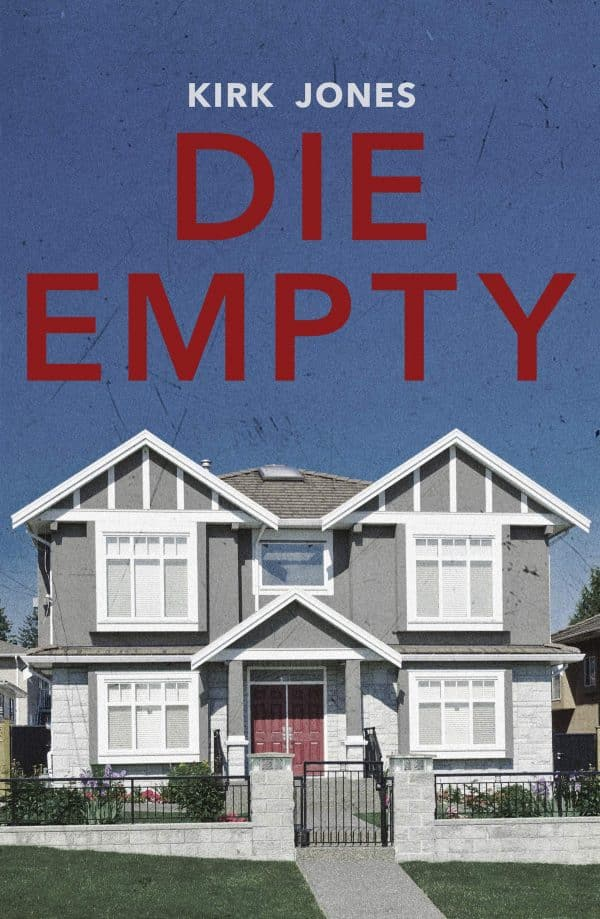 Die Empty by Kirk Jones (book front cover)