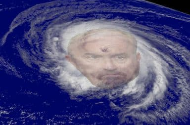 Louis and the hurricane