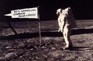 The REAL moon landing