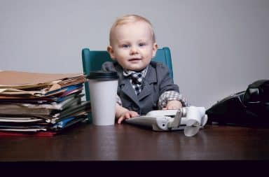 it's a boss baby please don't sue us please I'll do anything you want