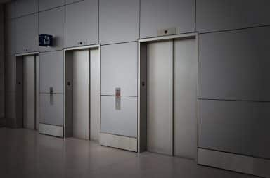 oh no the dreaded elevator