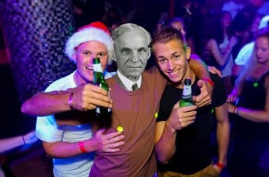 henry ford getting absolutely blitzed