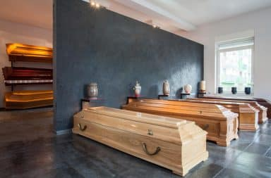 funeral home, the inside part