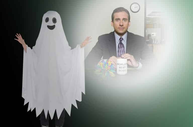 ghost of the office spooky