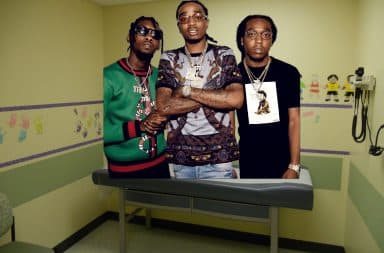 Rappers in pediatrician's doctor's office