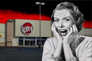 Scary at the circuit city