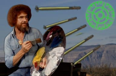 bob ross loves the missiles
