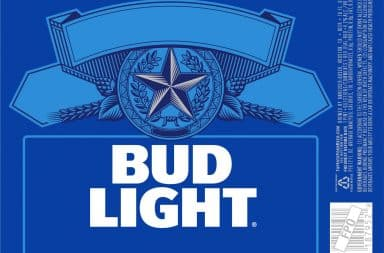 Bud Light ingredients label