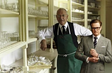 Butler with Colin Firth